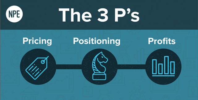The 3 P's: Pricing, Positioning, and Profits