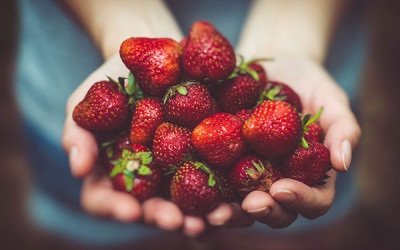 Strawberries, Sweet Healthy And Nutritious: