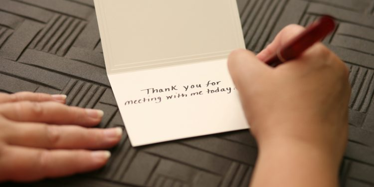 Set Up Your Thank You: