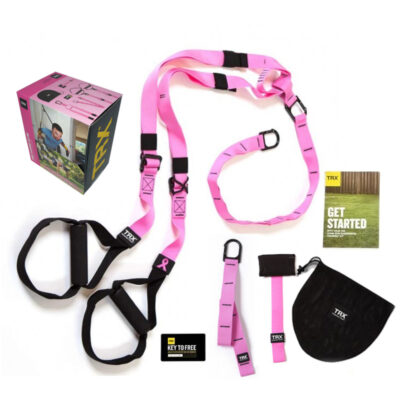 TRX Home Pink Suspension Trainer